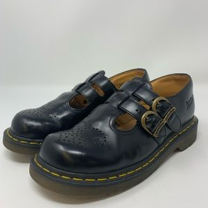 Dr Martens 8065 Black Mary Janes Size US 7